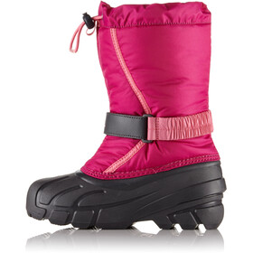 Sorel Flurry Boots Youth Deep Blush/Tropic Pink